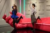 第1回ゲストはももクロの振付師! 夏目に「行くぜっ!怪盗少女」のダンスを伝授(C)テレビ朝日