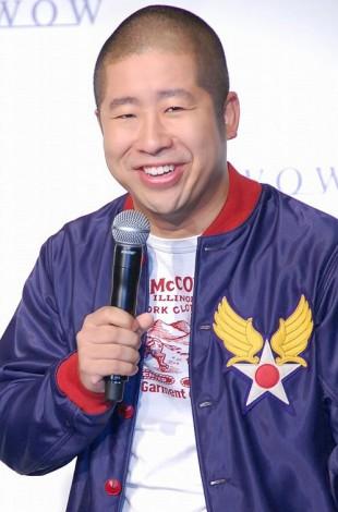 WOWOW『NBA開幕スペシャル』来日記者会見に出席した澤部佑 (C)ORICON NewS inc.