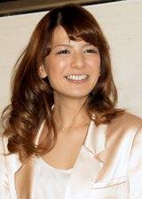 ブログで妊娠を報告したスザンヌ (C)ORICON NewS inc.