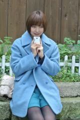 『平成26年用お年玉付年賀はがき』のイメージキャラクターに起用された篠田麻里子