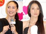 TBS系ドラマ『クロコーチ』から香椎由宇(左)が降板、新キャストとして芦名星(右)が出演 (C)ORICON NewS inc.