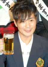 ビール片手にイベント参加も…乾杯はウーロン茶に変更したカラテカ・入江慎也 (C)ORICON NewS inc.