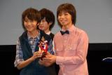 準グランプリに輝いた(左から)太田啓斗さん、谷井優貴さん (C)ORICON NewS inc.