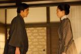 青木(永瀬匡)の登場により八重(綾瀬はるか)たち家族の在り方も変化していく(C)NHK