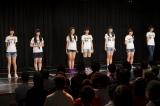 チームM公演の前座として出演したドラフト候補生たち(4日=NMB48劇場)(C)AKS