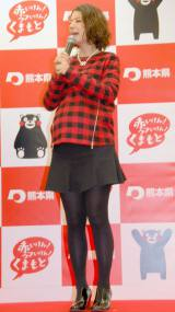お腹ふっくら…妊娠9ヶ月のスザンヌ (C)ORICON NewS inc.