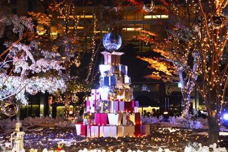 サムネイル 「おもはらの森」クリスマスイルミネーション (C)oricon ME inc.