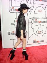 超ハイヒール! 米ニューヨークで『YouTube ミュージックアワード』授賞式に出席したレディー・ガガ=FilmMagic for YouTube Music Awards