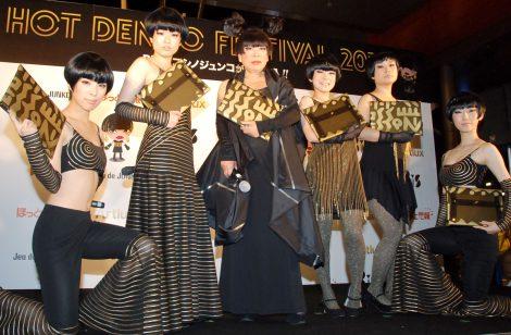 コシノジュンコが加入した新生BiSが初お披露目=『HOT DENPO FESTIVAL2013』 (C)ORICON NewS inc.