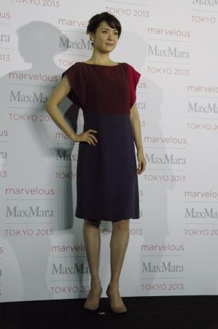ファッションイベント『Marvelous Max Mara Tokyo 2013』に来場した北川弘美 (C)ORICON NewS inc.