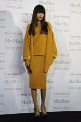 ファッションイベント『Marvelous Max Mara Tokyo 2013』に来場したヨンア (C)ORICON NewS inc.