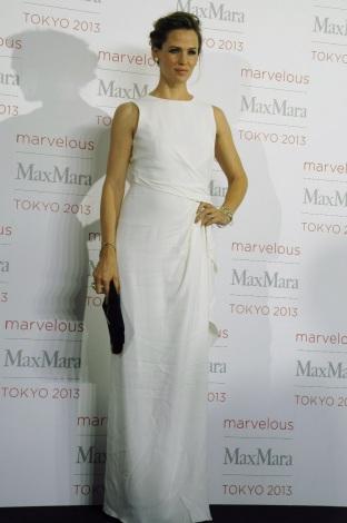 ファッションイベント『Marvelous Max Mara Tokyo 2013』に来場したジェニファー・ガーナー (C)ORICON NewS inc.
