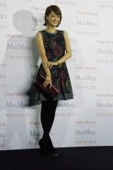 ファッションイベント『Marvelous Max Mara Tokyo 2013』に来場した富岡佳子 (C)ORICON NewS inc.