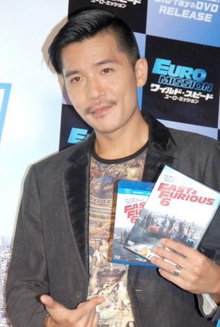 映画『ワイルド・スピード EURO MISSION』Blu-ray&DVD発売直前イベントに出席したZeebra (C)ORICON NewS inc.