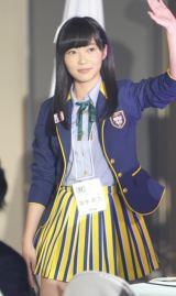 HKT48チームHメンバー兼劇場支配人として登場した指原莉乃(撮影:鈴木かずなり)