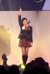 最後のアピールのステージで『RIVER』を踊る須藤凛々花さん(C)De-View