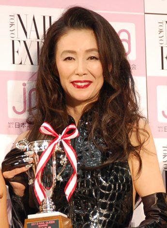 サムネイル 『ネイルクイーン 2013』で協会特別賞を受賞した萬田久子 (C)ORICON NewS inc.