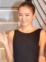 昨年のイメージガール・夏美=『2014年三愛水着イメージガール』発表会見 (C)ORICON NewS inc.