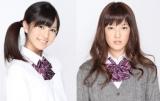 乃木坂46から卒業を発表した(左から)柏幸奈、宮澤成良