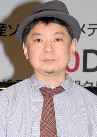 『日産 DAYZ』ガチ検証イベントに出席した鈴木おさむ (C)ORICON NewS inc.