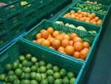 製造工場内にはズラリと新鮮な野菜や果物が並ぶ (C)oricon ME inc.
