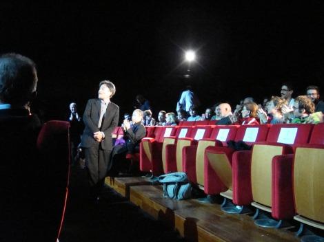第8回ローマ国際映画祭で映画『Seventh Code』の公式上映に立ち会った黒沢清監督