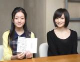 1巡目最多3チームが競合した当たりクジを須藤凛々花さんにプレゼントしたチームNキャプテン山本彩 (C)AKS