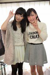 HKT48劇場支配人の指原莉乃と1位指名の山本茉央さん(C)AKS