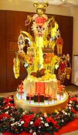 5億円の純金製クリスマスツリー『ディズニー ゴールドクリスマスツリー 2013』 (C)oricon ME inc.