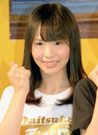 フルマラソンに挑戦することを発表したAKB48『マラソン部』メンバー松村香織(SKE48終身名誉研究生) (C)ORICON NewS inc.