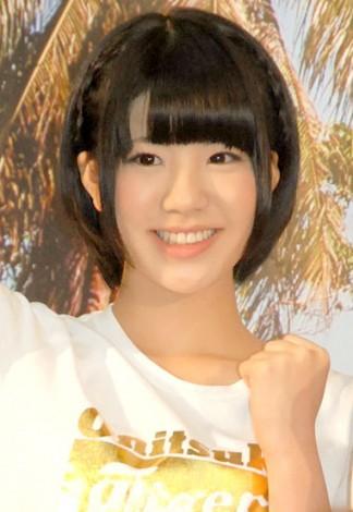 フルマラソンに挑戦することを発表したAKB48『マラソン部』メンバー梅本まどか(SKE48) (C)ORICON NewS inc.