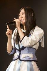 初のオリジナル公演初日を迎えたNMB48チームNの上西恵(C)NMB48