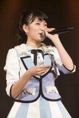 初のオリジナル公演初日を迎えたNMB48チームNの吉田朱里(C)NMB48