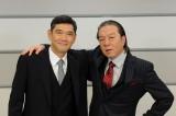 杉本哲太(左)が民放ドラマ初出演。古田新太(右)とW主演でキャリア官僚たちの警察ドラマ『隠蔽捜査』2014年1月放送スタート(C)TBS