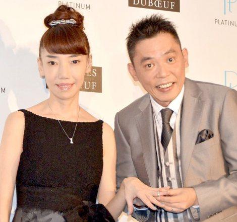 """サムネイル """"擬似結婚式""""を行った(左から)光代夫人&太田光 (C)ORICON NewS inc."""