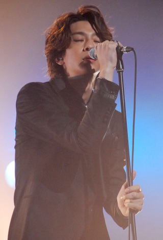 映画『カノジョは嘘を愛しすぎてる』上映前完成披露舞台あいさつに出席した三浦翔平 (C)ORICON NewS inc.