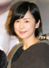 NHKドラマ『紙の月』の記者会見に出席した西田尚美 (C)ORICON NewS inc.