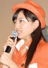 涙目でコメントした川口春奈 (C)ORICON NewS inc.