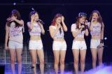 日本では見納め? KARAが涙のフィナーレ(写真左からジヨン、ニコル、ギュリ、スンヨン、ハラ)