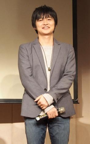 アニメ『となりの関くん』製作発表会に出席した下野紘 (C)ORICON NewS inc.