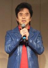 アニメ『となりの関くん』製作発表会に出席した水木一郎 (C)ORICON NewS inc.