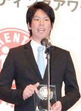 『第6回ペアレンティングアワード』授賞式に出席した前田健太 (C)ORICON NewS inc.