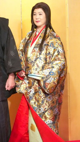 新春ワイド時代劇『影武者 徳川家康』の製作発表記者会見に出席した名取裕子 (C)ORICON NewS inc.