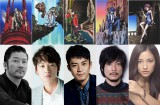実写版『ルパン三世』に出演する(左から)浅野忠信、綾野剛、小栗旬、玉山鉄二、黒木メイサ
