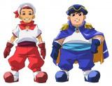 アニメ『最強銀河 究極(アルティメット)ゼロ〜バトルスピリッツ〜』でCOWCOWが演じたヨシ船長とタダ航海士
