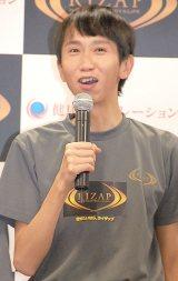 『我が家・杉山×RIZAP』公開イベントで結婚を生報告したアンガールズ・山根良顕 (C)ORICON NewS inc.