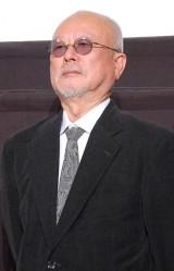 映画『あさひるばん』の初日舞台あいさつに出席したやまさき十三監督 (C)ORICON NewS inc.