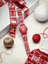 12月7日より発売されるSwatchの2013年クリスマス限定商品『RED KNIT (レッド・ニット) 』、日本での販売数は360本