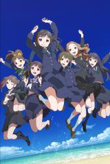 2014年1月10日スタートの新作オリジナルアニメーション『Wake Up, Girls!』(C)Green Leaves/Wake Up, Girls!製作委員会