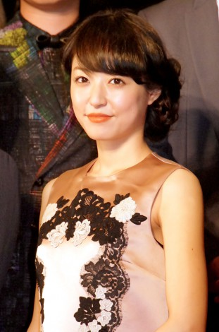 映画『永遠の0』の完成披露イベントに出席した井上真央 (C)ORICON NewS inc.
